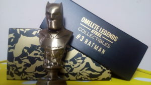 mini busto batman